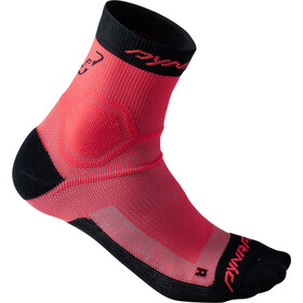 Dynafit Alpine - Calcetines Running Mujer - rosa/negro